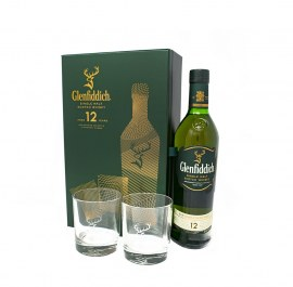 Glenfiddich 12Yrs W/2 Glass