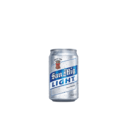 San Miguel Light Can